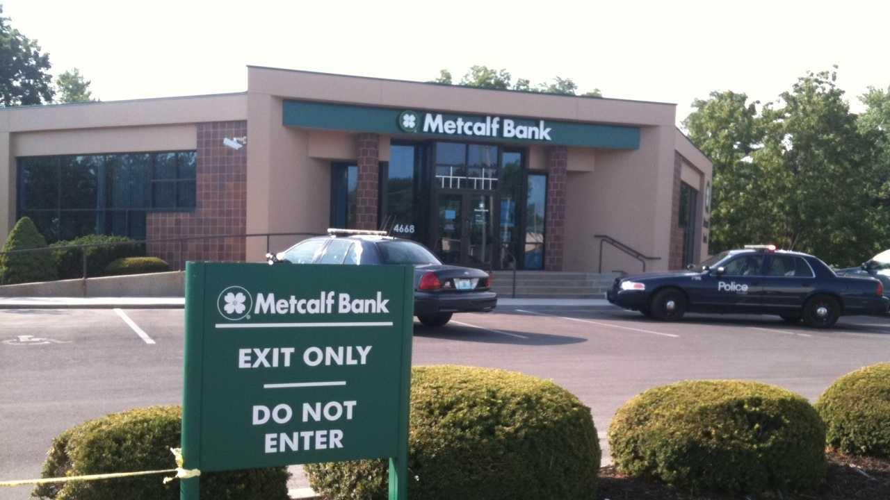 Metcalf Bank Robbery scene - 4600 Blue Ridge