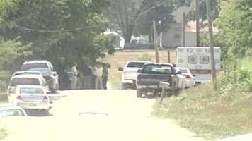 Investigators meet as they continue their search.