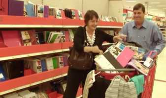 Purchases of school supplies must remain under a total of $50 per purchase.