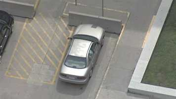Mahoney reported that the Jackson County Jail, which is in proximity to the suspicious car, was put on lock down.