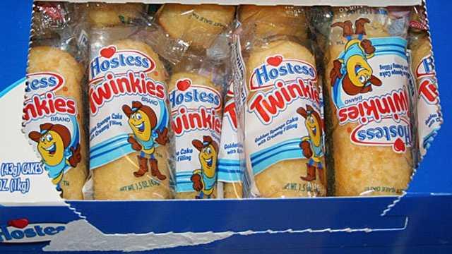 box of Hostess Twinkies