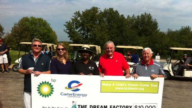 Dream Factory check pic with Larry Moore