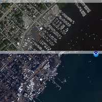 CLICK HERE to view a map of the regions impacted by the hurricane,and click on an icon to view a thumbnail or high-definition image of a specific area.Images are now available for some of the Northeast's hardest-hit areas, including Atlantic City, Seaside Heights, N.J., Ocean City, Md., Long Island and parts of Delaware.