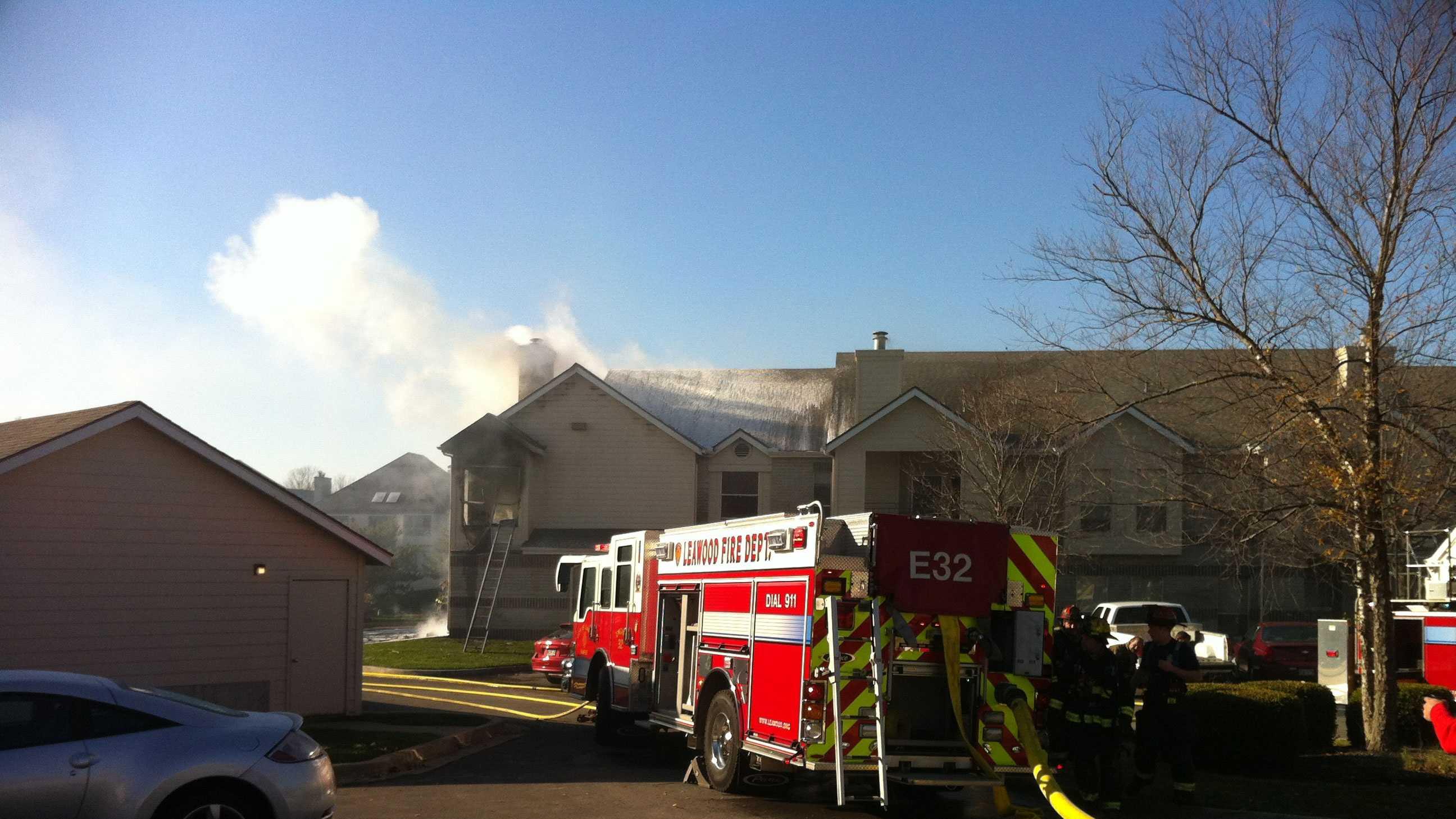 Hawthorne apartment fire