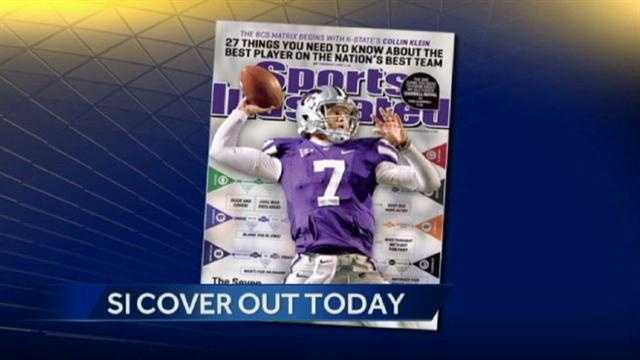 Collin Klein on Sports Illustrated cover