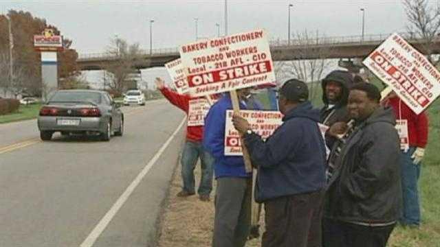 Image Hostess strike