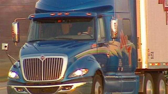 Truck drivers, whose workloads can often give early indications about the health of the economy, said they're still seeing signs of a gradual uptick in the economy.