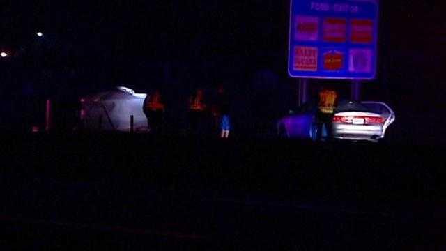 Interstate 70 rollover crash