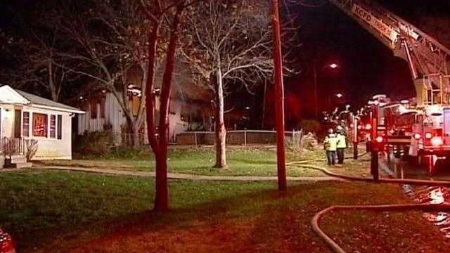 Farley Avenue house fire