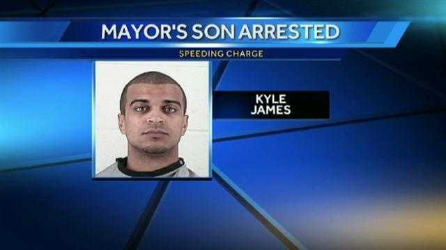 Kyle James arrest