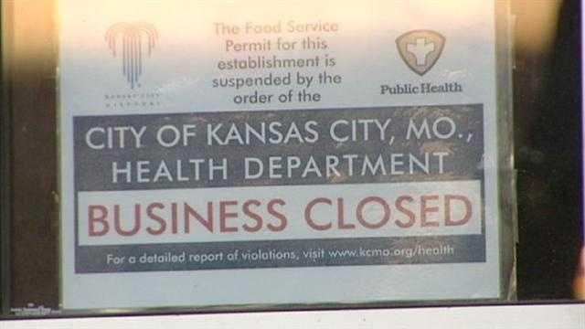 Image Health Department sign