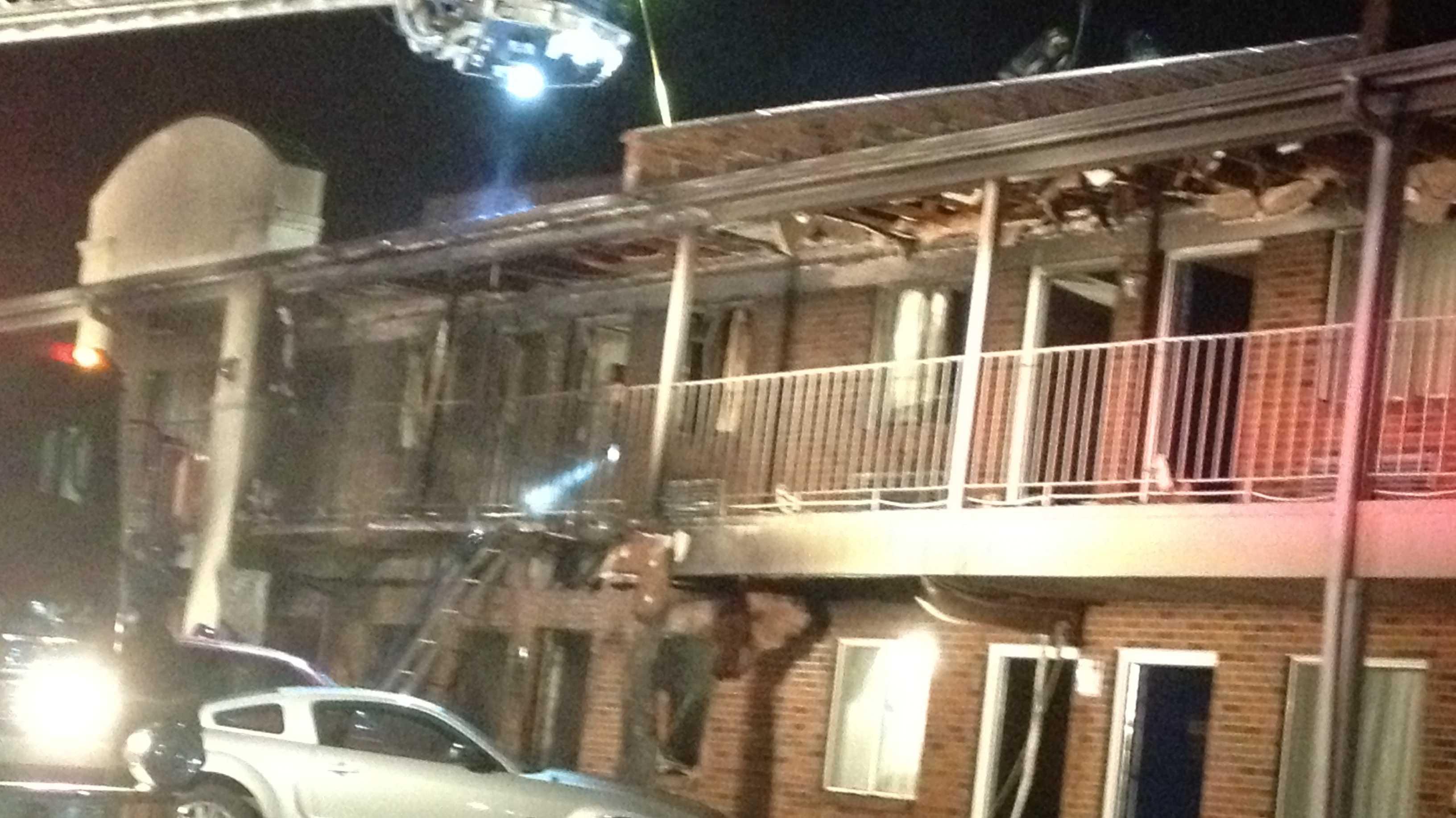 Days Inn Fire In Liberty