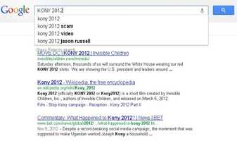 10) KONY 2012: A short film that went viral on YouTube.