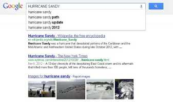 2) Hurricane Sandy: The massive super storm badly damaged parts of the east coast in October and November.