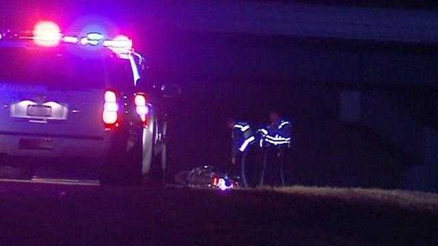 Image fatal motorcycle wreck