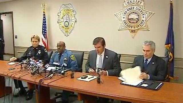 Topeka police news conference