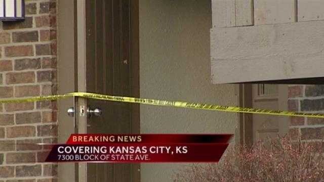 KCK police are investigating a homicide