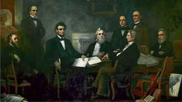 150 Years Ago: President Abraham Lincoln issued the Emancipation Proclamation.