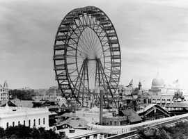 120 years ago: George Washington Gale Ferris Jr. introduces the first Ferris Wheel at the 1893 World Columbian Exposition