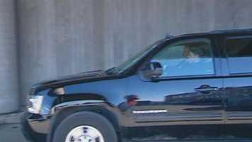 Hunt drove Reid to Arrowhead Stadium.