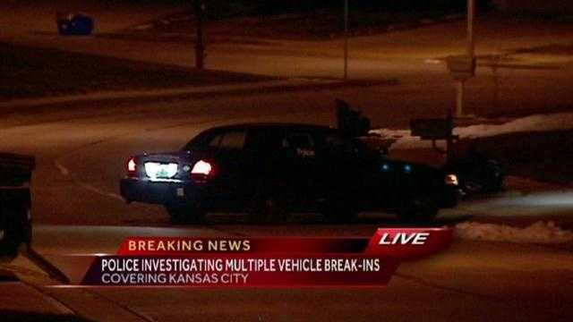 South Patrol police car breakins