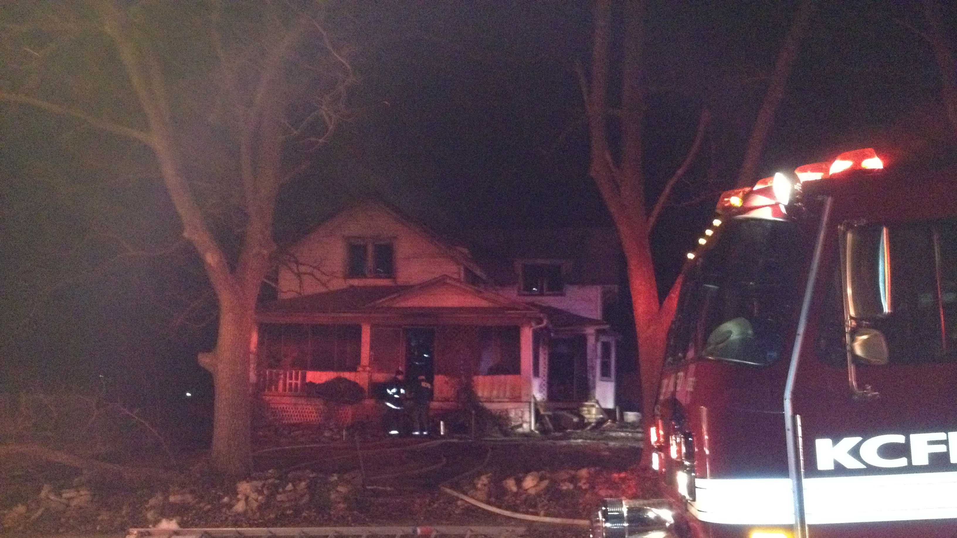 House fire 61st, Swope Parkway