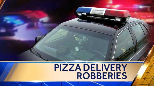Image Pizza delivery robberies graphic