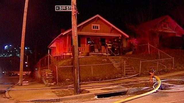 House fire 31st Street