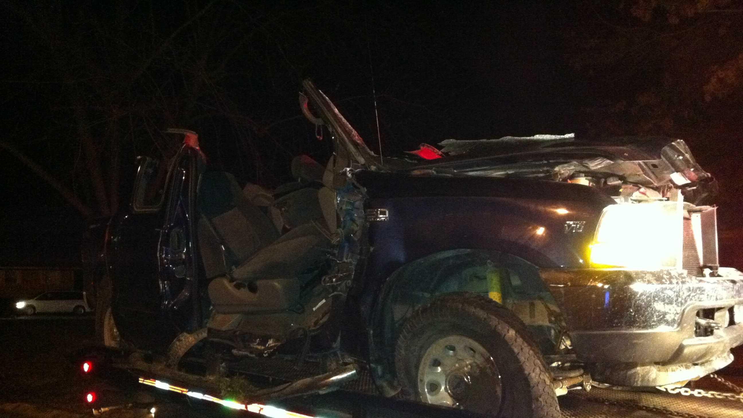 Belton chase and crash
