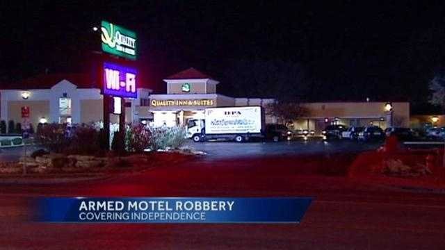 Quality Inn, motel robbery, Independence