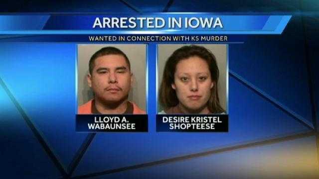 Image Pair arrested in Iowa