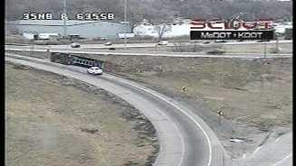 Ramp to I-635 closed