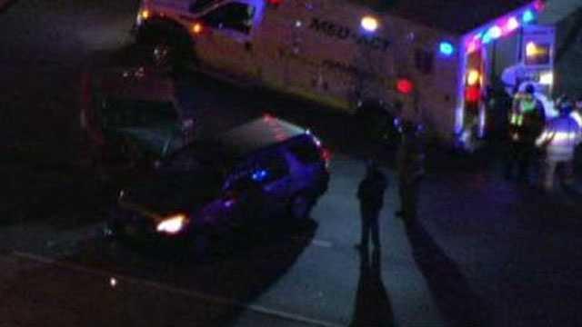 K-7, 83rd Street accident