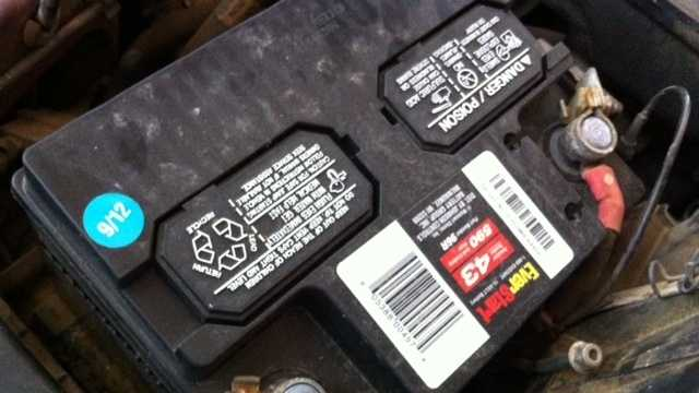 Image Car battery