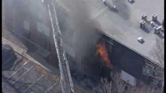 Apartment fire, 2100 Lexington Avenue