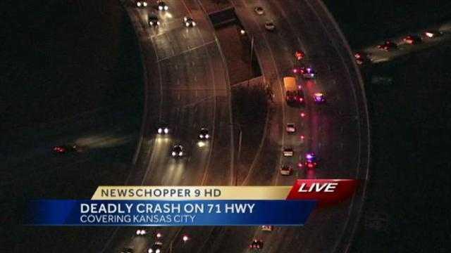 Fatal crash snarls traffic on U.S. 71 in east KC