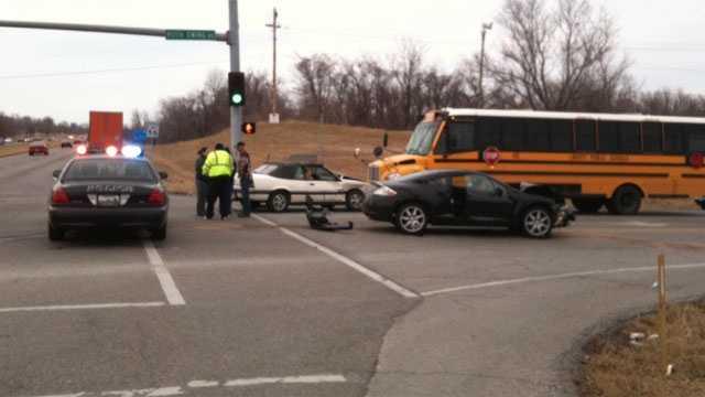 Image Liberty School bus crash