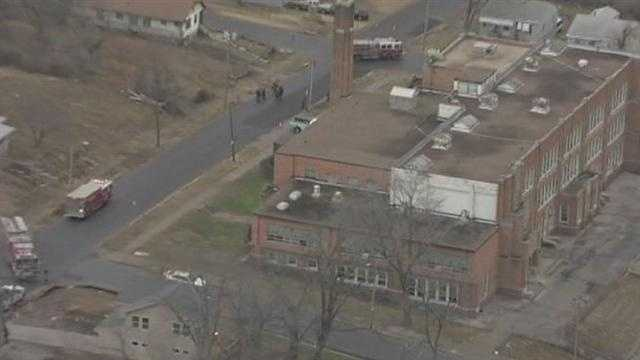 Gas leak reported at closed Chick Elementary School