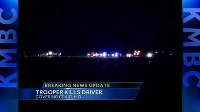 Mo. trooper shoots, kills driver near Craig