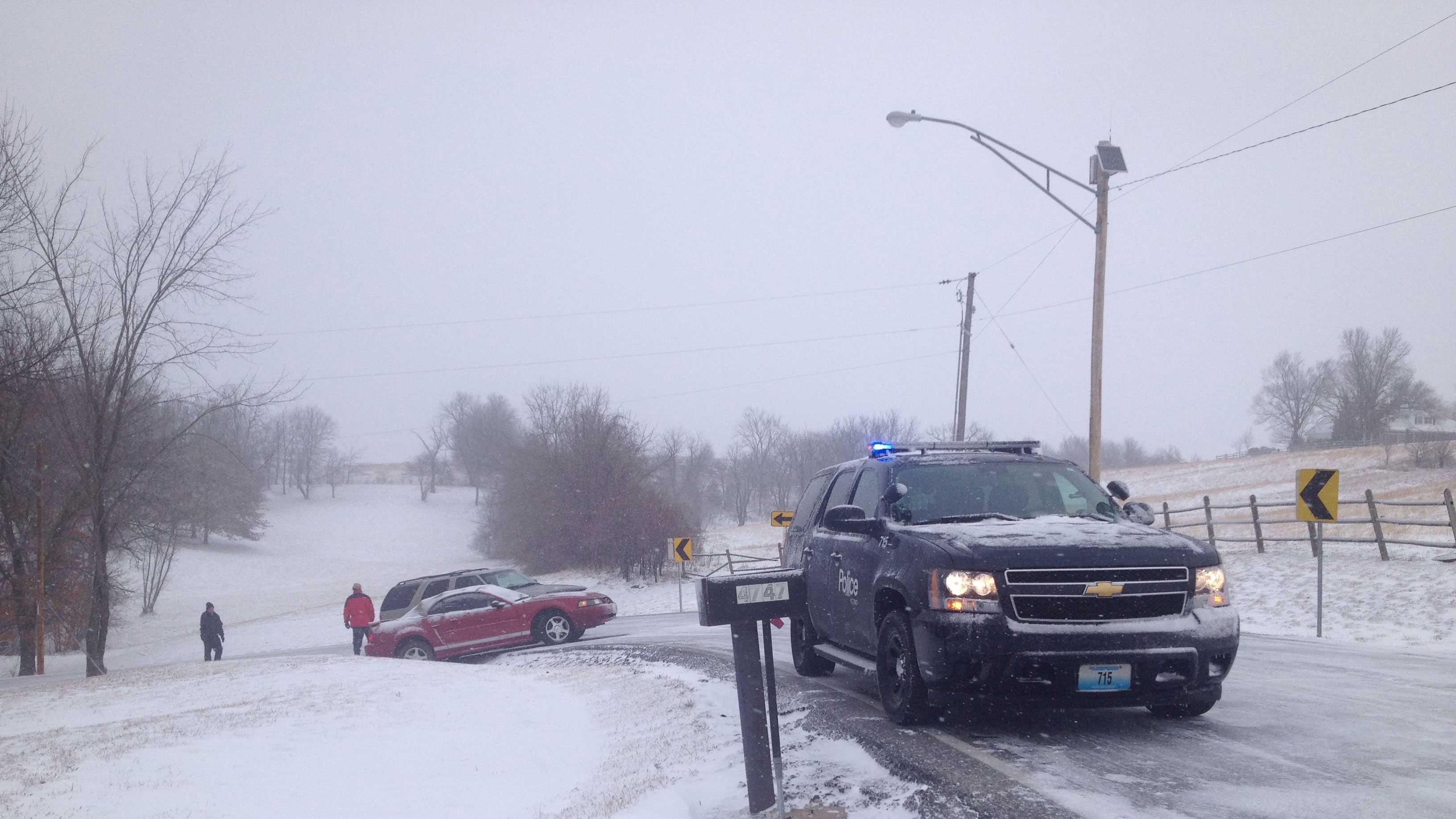 Wreck near Staley High School image 2