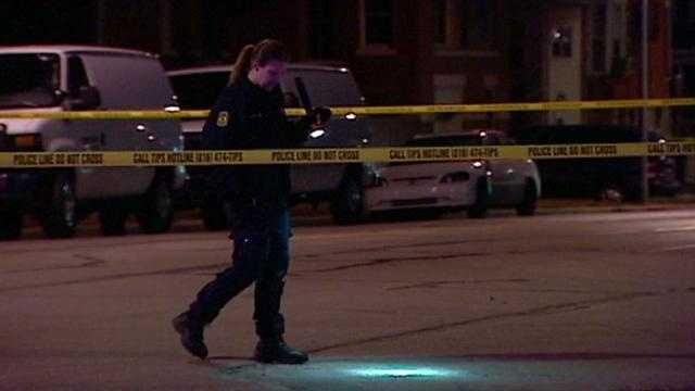 Victim shot in van suffers critical injuries