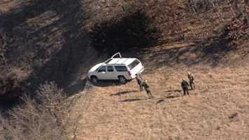 Monday morning's high speed chase ended along K-10