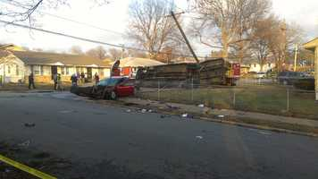 Image of the accident from viewer tomahturley