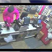 Cameron police say the robbery happened just after 1 a.m. at the South Casey's General Store at 305 E. Evergreen. No one was hurt.