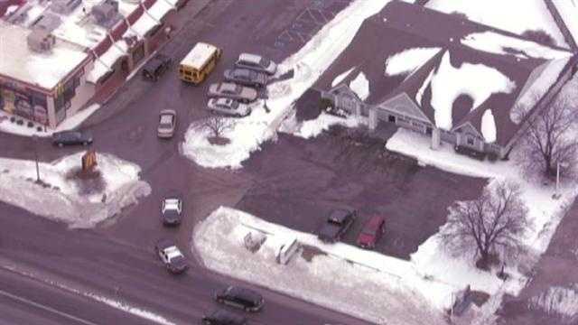 Minor school bus crash