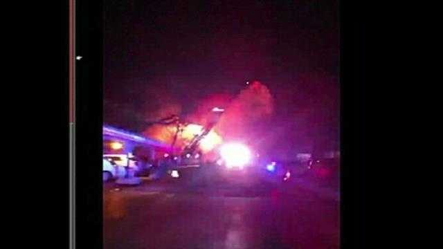 Mission apartment fire, viewer pic