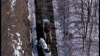 Holt tanker truck overturns