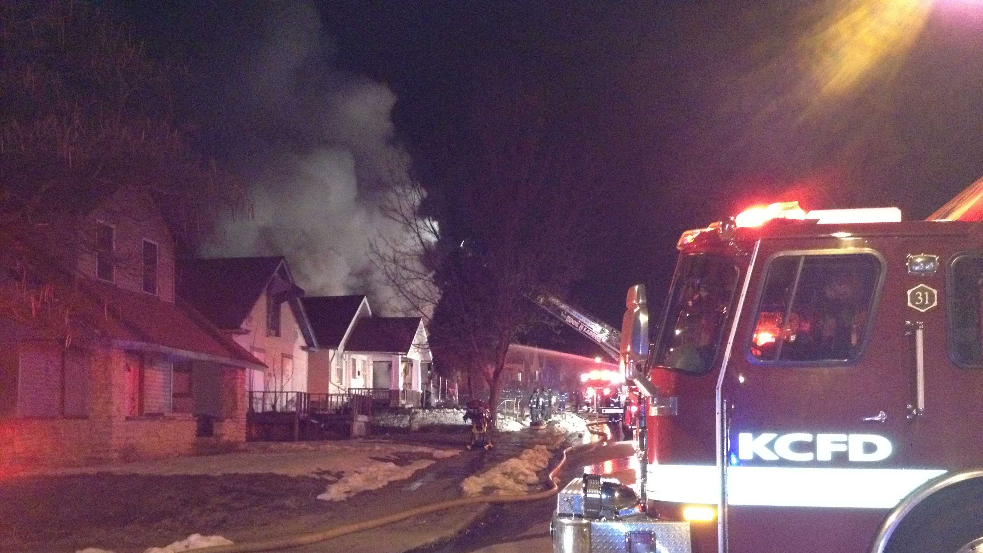 House fire, 45th, Chestnut