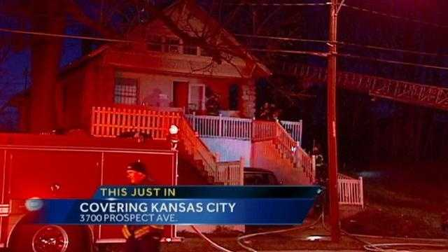 Image Kansas City house fire