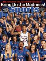University of Kansas Jayhawk fans and Ben McLemore are featured on one of four regional covers for Sports Illustrated's NCAA Tournament preview issues. Click through the slides to see the other featured players and schools.